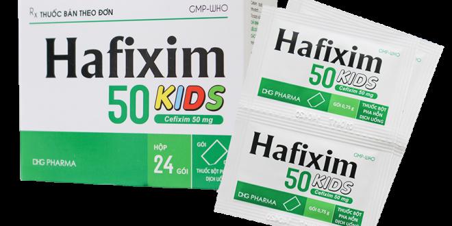 Thuốc hafixim 50 kids là thuốc gì? có tác dụng gì? giá bao nhiêu tiền?