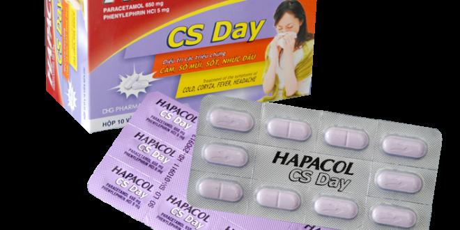 Thuốc hapacol cs day 650 là thuốc gì? có tác dụng gì? giá bao nhiêu tiền?