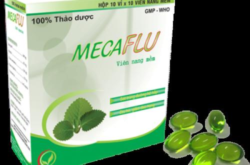 Thuốc mecaflu là thuốc gì? có tác dụng gì? giá bao nhiêu tiền?