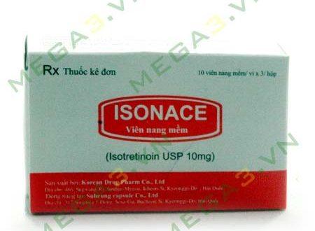 Thuốc isonace 10mg là thuốc gì? có tác dụng gì? giá bao nhiêu tiền?