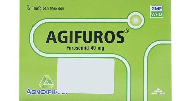 Thuốc agifuros 40mg là thuốc gì? có tác dụng gì? giá bao nhiêu tiền?