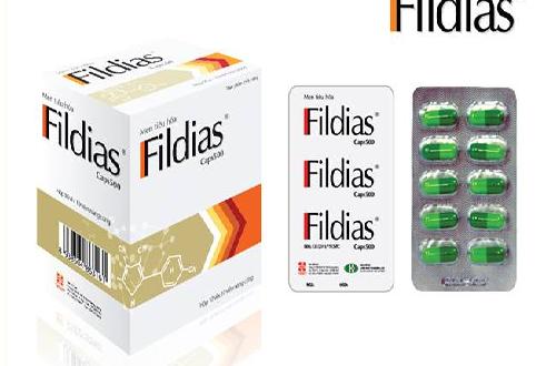 Thuốc fildias là thuốc gì? có tác dụng gì? giá bao nhiêu tiền?