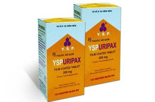 Thuốc yspuripax là thuốc gì? có tác dụng gì? giá bao nhiêu tiền?