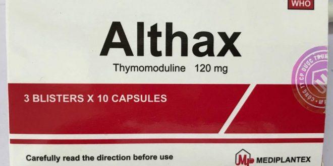 Thuốc althax 120mg là thuốc gì? có tác dụng gì? giá bao nhiêu tiền?