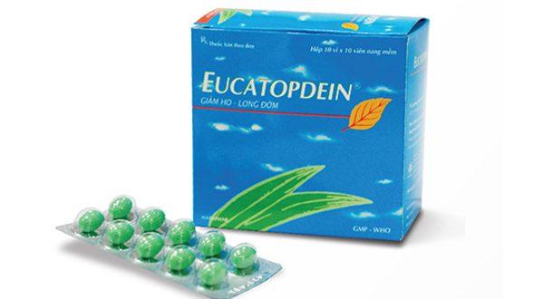 Thuốc eucatopdein là thuốc gì? có tác dụng gì? giá bao nhiêu tiền?