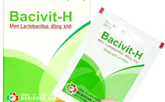 Thuốc bacivit h là thuốc gì? có tác dụng gì? giá bao nhiêu tiền?