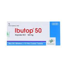 Thuốc ibutop 50 là thuốc gì? có tác dụng gì? giá bao nhiêu tiền?