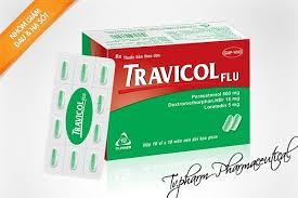 Thuốc travicol flu là thuốc gì? có tác dụng gì? giá bao nhiêu tiền?