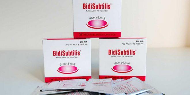 Thuốc bidisubtilis là thuốc gì? có tác dụng gì? giá bao nhiêu tiền?