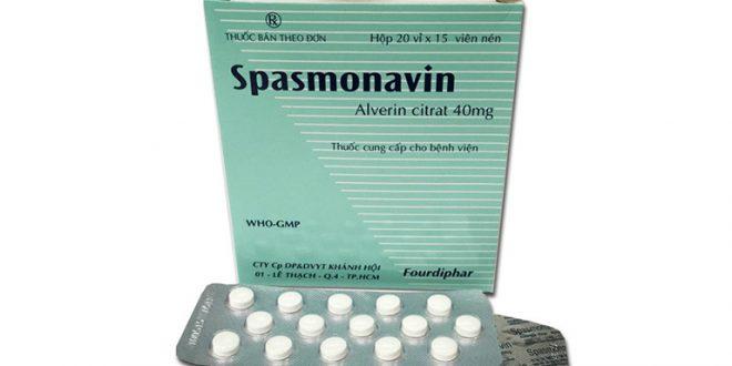 Thuốc spasmonavin 40mg là thuốc gì? có tác dụng gì? giá bao nhiêu tiền?
