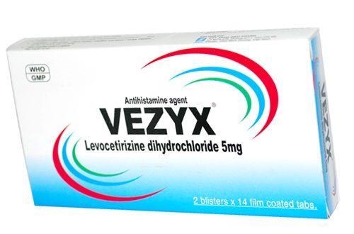 Thuốc vezyx 5mg là thuốc gì? có tác dụng gì? giá bao nhiêu tiền?