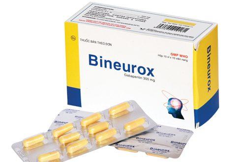 Thuốc bineurox 300mg là thuốc gì? có tác dụng gì? giá bao nhiêu tiền?