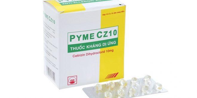 Thuốc pyme cz10 là thuốc gì? có tác dụng gì? giá bao nhiêu tiền?