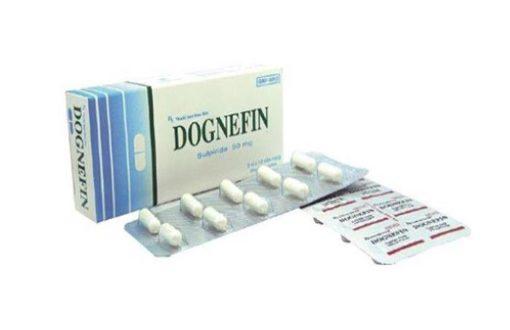 Thuốc dognefin 50mg là thuốc gì? có tác dụng gì? giá bao nhiêu tiền?