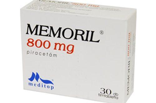 Thuốc memoril 800mg là thuốc gì? có tác dụng gì? giá bao nhiêu tiền?