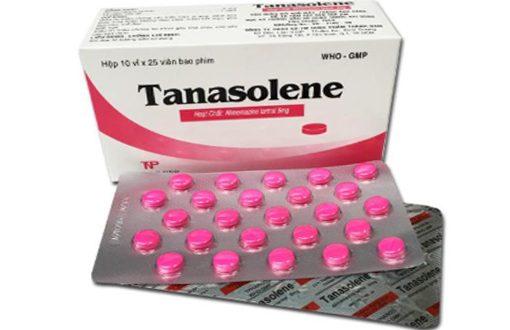 Thuốc tanasolene 5mg là thuốc gì? có tác dụng gì? giá bao nhiêu tiền?