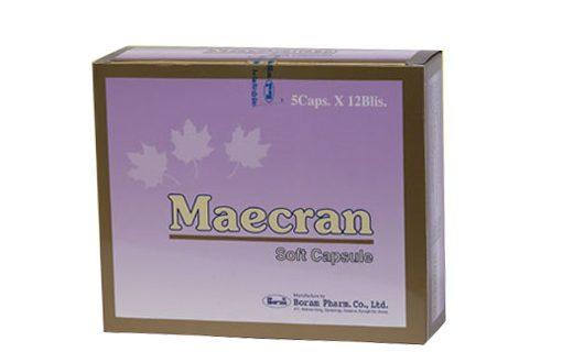 Thuốc maecran là thuốc gì? có tác dụng gì? giá bao nhiêu tiền?