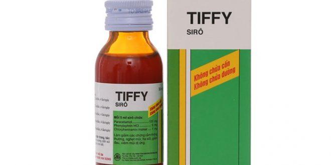 Thuốc tiffy syrup 30ml là thuốc gì? có tác dụng gì? giá bao nhiêu tiền?