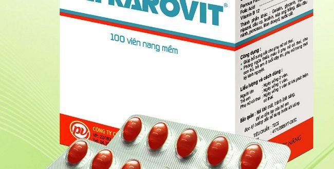Thuốc fefrarovit là thuốc gì? có tác dụng gì? giá bao nhiêu tiền?