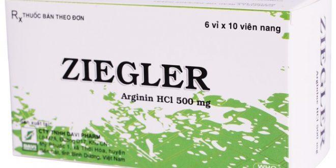 Thuốc ziegler là thuốc gì? có tác dụng gì? giá bao nhiêu tiền?