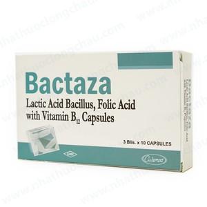 Thuốc bactaza là thuốc gì? có tác dụng gì? giá bao nhiêu tiền?