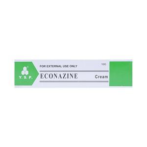Thuốc econazine cream 10g là thuốc gì? có tác dụng gì? giá bao nhiêu tiền?