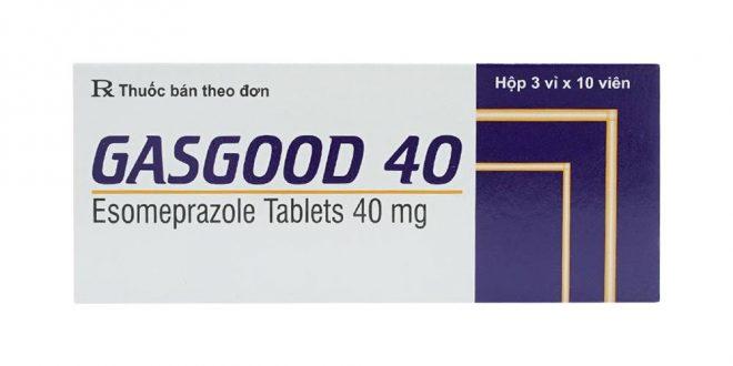 Thuốc gasgood 40 là thuốc gì? có tác dụng gì? giá bao nhiêu tiền?