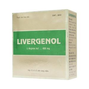 Thuốc livergenol là thuốc gì? có tác dụng gì? giá bao nhiêu tiền?