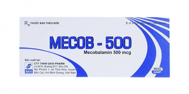 Thuốc mecob 500 là thuốc gì? có tác dụng gì? giá bao nhiêu tiền?