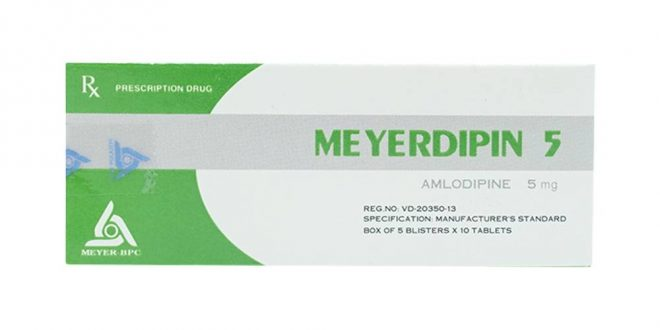 Thuốc meyerdipin 10 là thuốc gì? có tác dụng gì? giá bao nhiêu tiền?