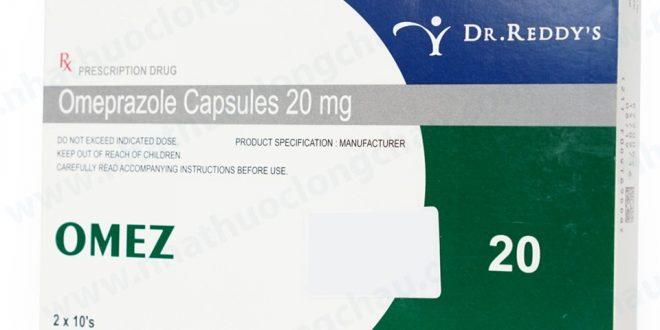 Thuốc omez 20mg là thuốc gì? có tác dụng gì? giá bao nhiêu tiền?
