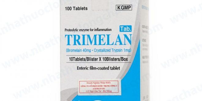 Thuốc trimelan là thuốc gì? có tác dụng gì? giá bao nhiêu tiền?