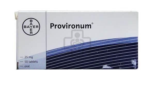 Thuốc provironum là thuốc gì? có tác dụng gì? giá bao nhiêu tiền?