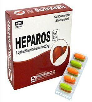 Thuốc heparos là thuốc gì? có tác dụng gì? giá bao nhiêu tiền?