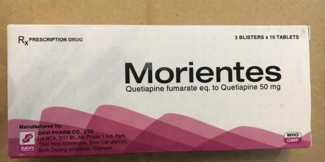 Thuốc morientes 50mg là thuốc gì? có tác dụng gì? giá bao nhiêu tiền?