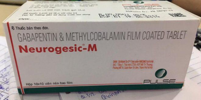 Thuốc neurogesic m là thuốc gì? có tác dụng gì? giá bao nhiêu tiền?