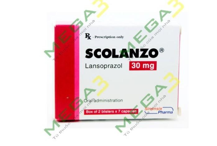 Thuốc scolanzo 15mg là thuốc gì? có tác dụng gì? giá bao nhiêu tiền?