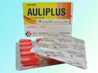 Thuốc auliplus 20 là thuốc gì? có tác dụng gì? giá bao nhiêu tiền?