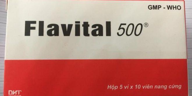 Thuốc flavital 500 là thuốc gì? có tác dụng gì? giá bao nhiêu tiền?