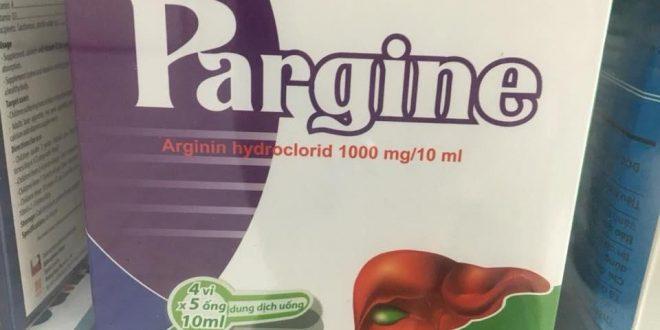 Thuốc pargine 1000mg/10ml là thuốc gì? có tác dụng gì? giá bao nhiêu tiền?