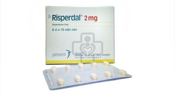 Thuốc risperdal 2 mg là thuốc gì? có tác dụng gì? giá bao nhiêu tiền?