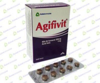Thuốc agifivit là thuốc gì? có tác dụng gì? giá bao nhiêu tiền?