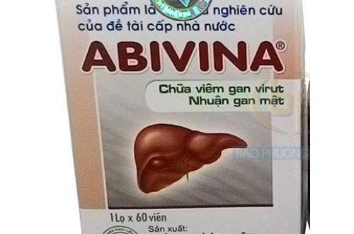 Thuốc abivina là thuốc gì? có tác dụng gì? giá bao nhiêu tiền?