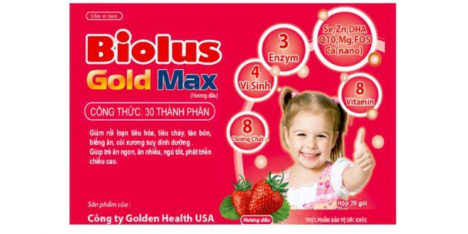 Thuốc biolus gold max là thuốc gì? có tác dụng gì? giá bao nhiêu tiền?