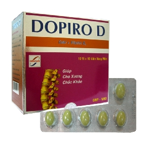 Thuốc dopiro d là thuốc gì? có tác dụng gì? giá bao nhiêu tiền?
