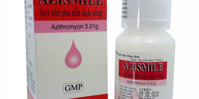 Thuốc azismile 200mg là thuốc gì? có tác dụng gì? giá bao nhiêu tiền?