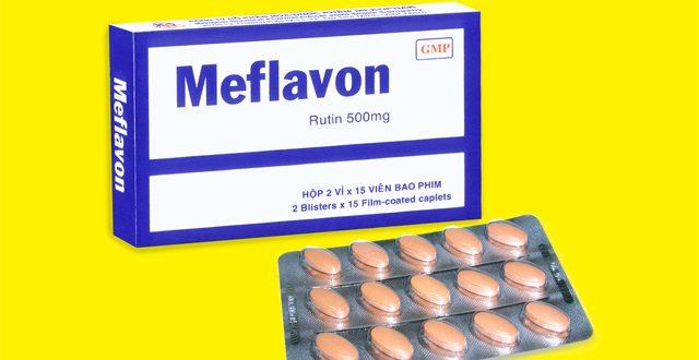 Thuốc meflavon 500mg là thuốc gì? có tác dụng gì? giá bao nhiêu tiền?