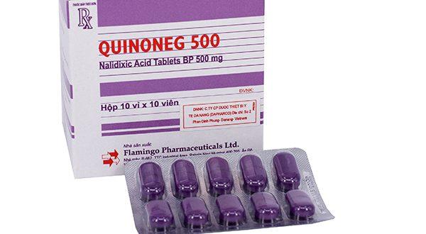 Thuốc quinoneg 500 là thuốc gì? có tác dụng gì? giá bao nhiêu tiền?