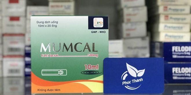 Thuốc mumcal 10ml là thuốc gì? có tác dụng gì? giá bao nhiêu tiền?