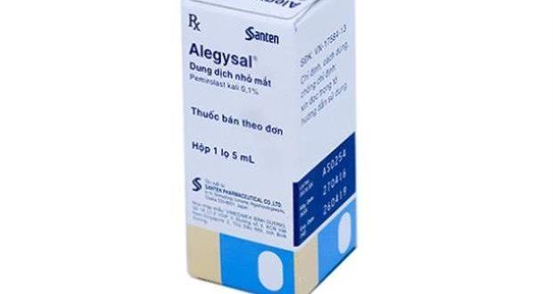 Thuốc alegysal 0.1% là thuốc gì? có tác dụng gì? giá bao nhiêu tiền?